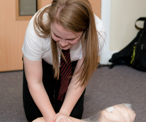 First Aid Course Success at Lochaber High School 1
