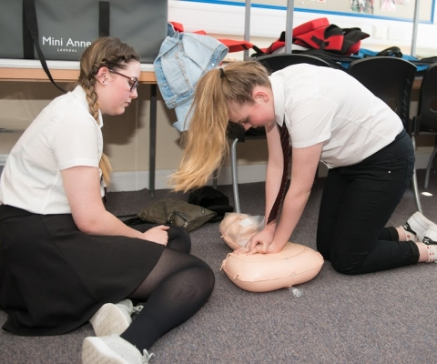 First Aid Course Success at Lochaber High School 2