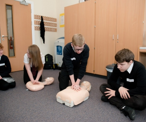 First Aid Course Success at Lochaber High School 3