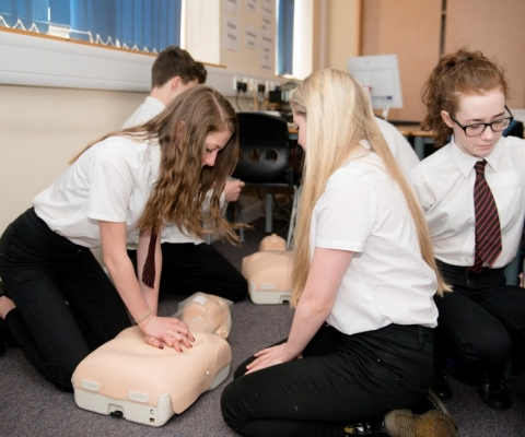 First Aid Course Success at Lochaber High School