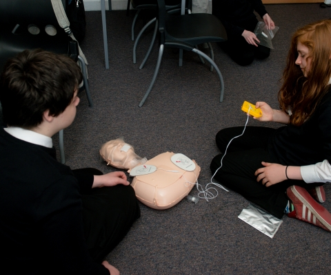 First Aid Course Success at Lochaber High School 5