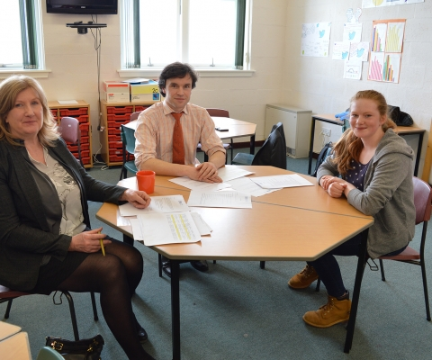 Helping Mallaig High School Prepare for the World of Work