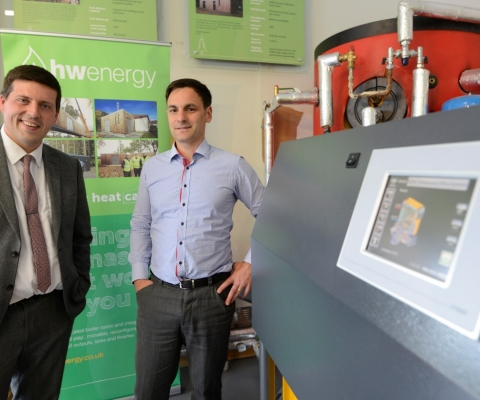 Jamie Hepburn MSP, Minister for Employability and Training Visits Lochaber Businesses 1