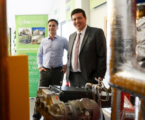 Jamie Hepburn MSP, Minister for Employability and Training Visits Lochaber Businesses 2