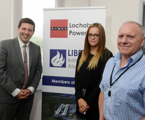 Jamie Hepburn MSP, Minister for Employability and Training Visits Lochaber Businesses 3