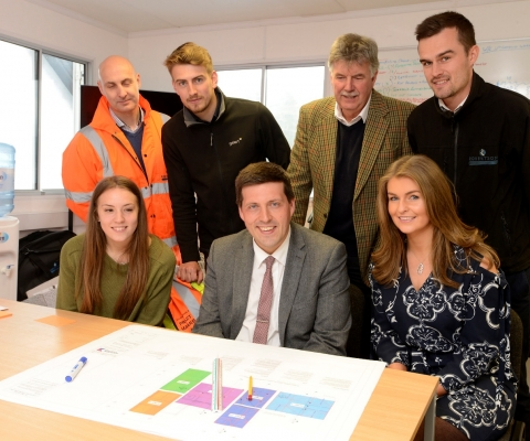Jamie Hepburn MSP, Minister for Employability and Training Visits Lochaber Businesses 7