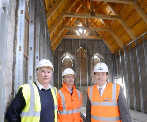 Jamie Hepburn MSP, Minister for Employability and Training Visits Lochaber Businesses 8